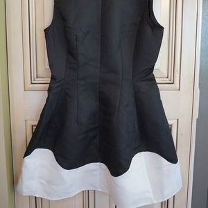 HIGH-NECK COCKTAIL DRESS